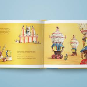 """Kinderbuch, """"Toddy der Radonör"""", ein Bilderbuch mit wunderschönen Illustrationen über eine Fahrrad-Reise Bild 8"""