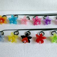 Süße kleine Blumenstecker in 11 Farben Bild 3