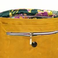 """Handtasche """"Alexia"""" aus Oilskin, curry Bild 4"""