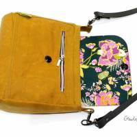 """Handtasche """"Alexia"""" aus Oilskin, curry Bild 5"""