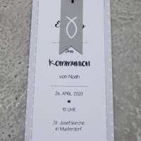 Einladungskarte Taufe Kommunion Konfirmation Bild 1