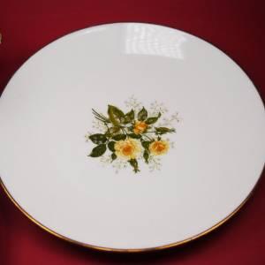 """Sammel / Kaffee - Gedeck """"Seltmann Weiden - gelbrotes Blumendekor"""" Bild 4"""