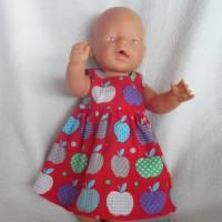 Puppenkleid,für 43 cm große Puppen,Baumwollstoff Bild 1