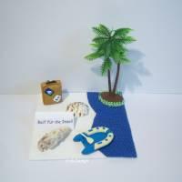 Geldgeschenk, Reise-Gutschein, Reif für die Insel, Geschenk, Geldgeschenkverpackung, Geburtstag, Urlaub-Reise Bild 1