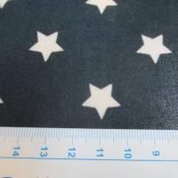 A.U Maison Wachstuch Oilcloth Star Midnight Blue Oeko-Tex Standard 100 ( 1m/20,-€) Bild 2