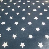 A.U Maison Wachstuch Oilcloth Star Midnight Blue Oeko-Tex Standard 100 ( 1m/20,-€) Bild 3