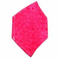 """Überzug für FFP2 Maske """"Ranken Pink"""" - einlagig - 100% Baumwolle - Waschbar - Stoffhülle - Stoffüberzug Bild 2"""