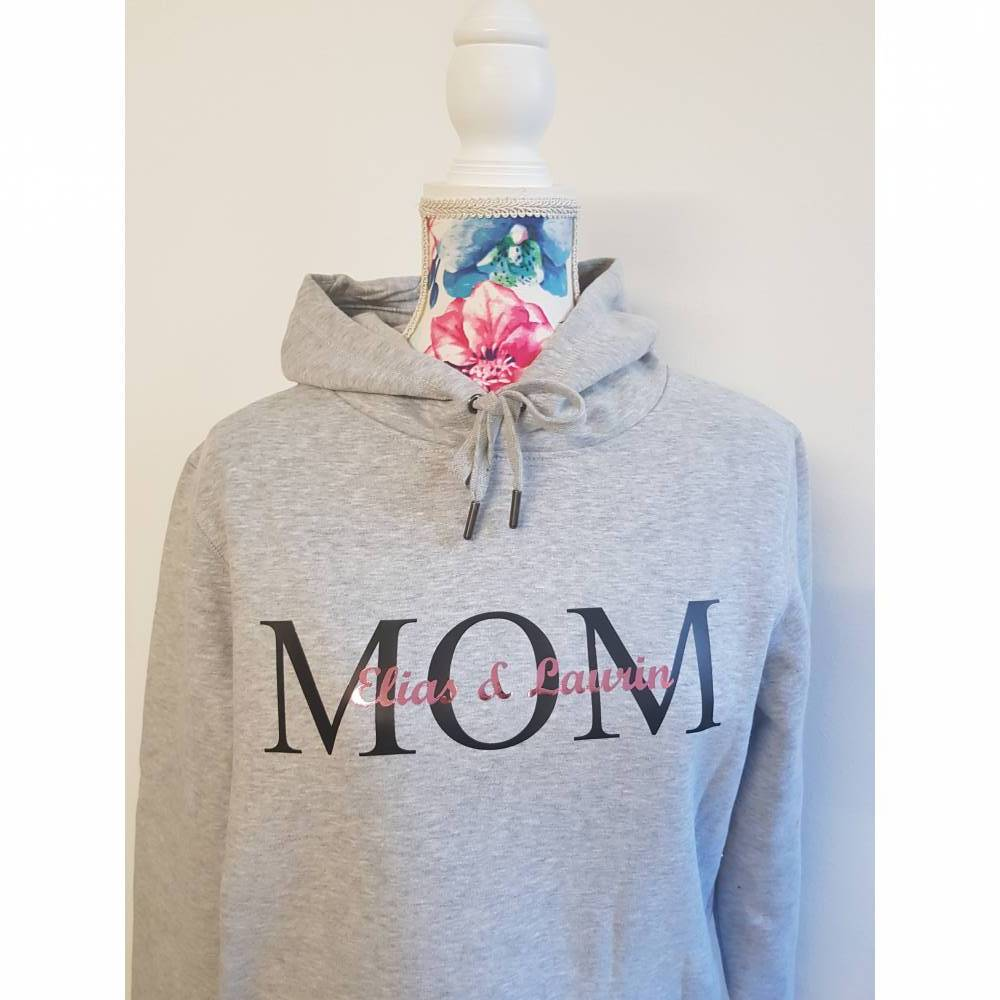 Hoodie MOM personalisiert Bild 1