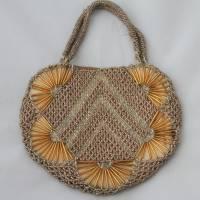 kleine Vintage Tasche mit Glasperlen Bild 4
