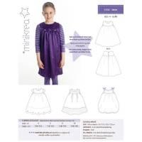 minikrea Papier-Schnittmuster Kleid (4-10 Jahre) Bild 2