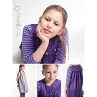minikrea Papier-Schnittmuster Kleid (4-10 Jahre) Bild 3