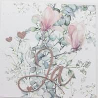 Hochzeitskarte, Glückwunschkarte zur Hochzeit, Karte für ein Brautpaar Bild 1