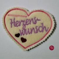"""Wunscherfüller-Herz """"HERZENSWUNSCH""""-  nach DEINEN Wünschen gestaltet.... Bild 1"""