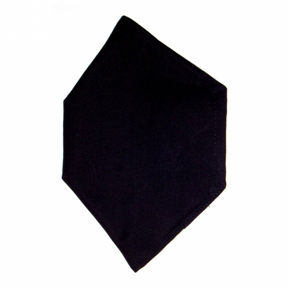 """Überzug für FFP2 Maske """"Schwarz"""" - einlagig - 100% Baumwolle - Waschbar - Stoffhülle - Stoffüberzug Bild 1"""