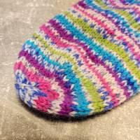 handgestrickte Socken, Größe 40 - 42, wärmende Socken, dicke Wintersocken Bild 5