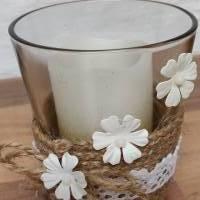 Kerzenglas Shabby-Chic Bild 2