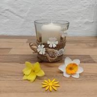 Kerzenglas Shabby-Chic Bild 5