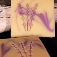 Lavendel Seifenstempel Bild 2