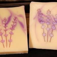 Lavendel Seifenstempel Bild 3