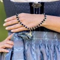 Trachtenkette, Dirndlkette, Halskette, Perlenkette, necklace, Tracht, Dirndl, Oktoberfest, Bavarian, Bavarian Style, Ges Bild 1