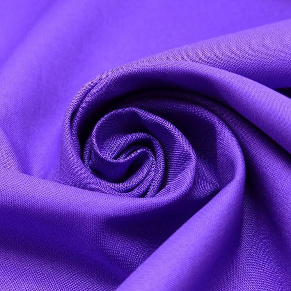 Baumwolle uni lila/violett - Fahnentuch Bild 1