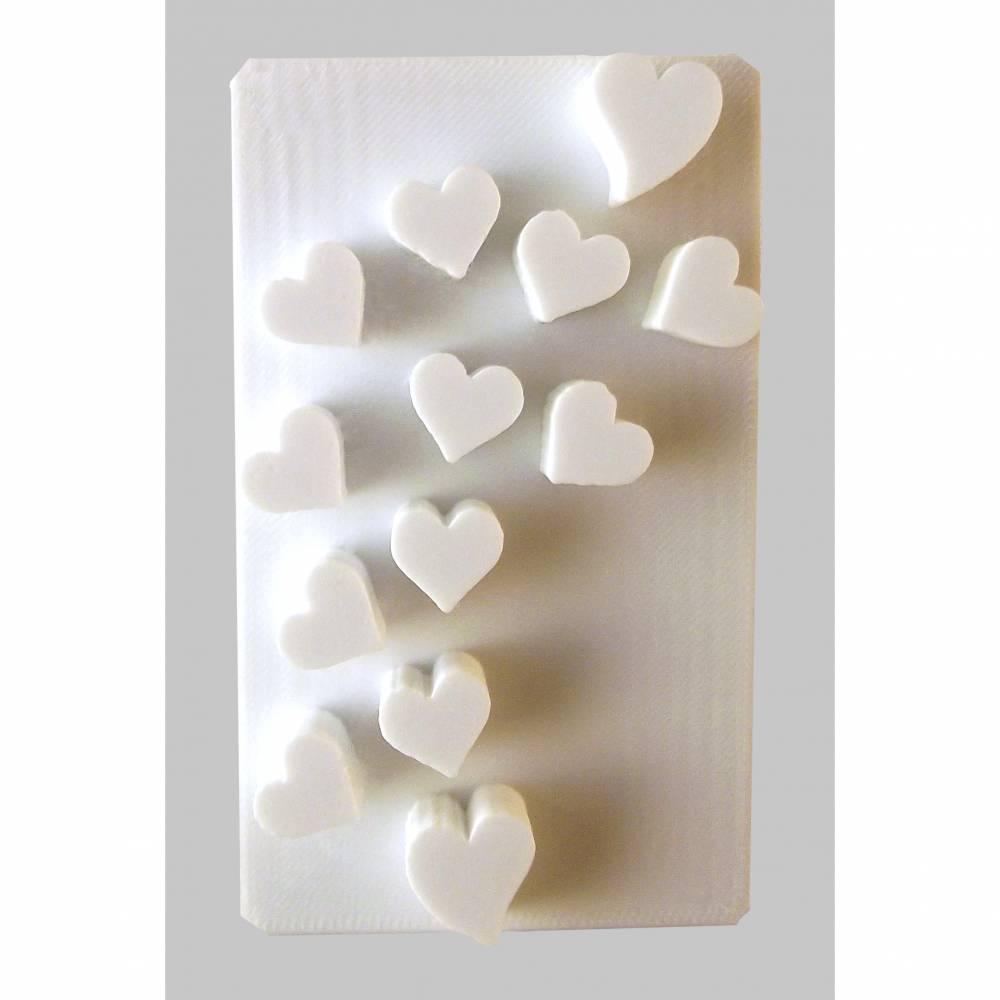 Herzchen Seifenstempel Bild 1
