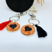 Schlüsselanhänger mit Herz Bild 1