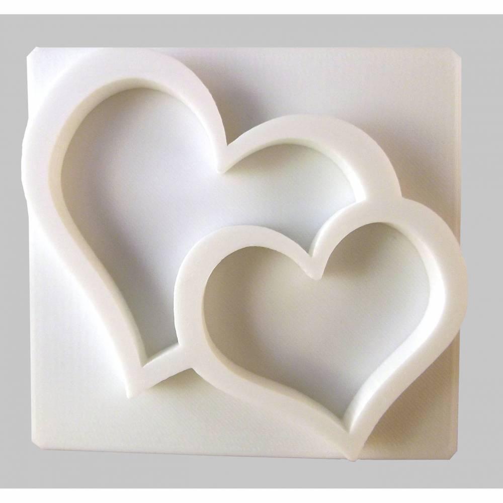 Herzen Seifenstempel Bild 1