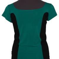 Farbenfrohes Designer T-Shirt _ Eco Fashion Art Print *Seepferdchen* petrol_100% Biobaumwolle _Organic Kurzarm sportlich Bild 5