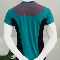 Farbenfrohes Designer T-Shirt _ Eco Fashion Art Print *Seepferdchen* petrol_100% Biobaumwolle _Organic Kurzarm sportlich Bild 6