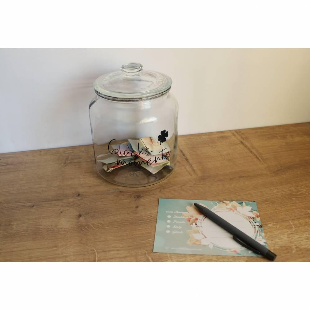 Glücksmomenteglas aus der Manufaktur Karla Bild 1