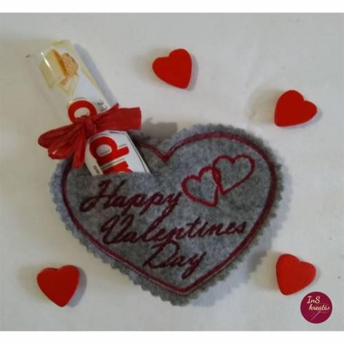 Happy Valentines Day - Valentinsherz nach DEINEN Wünschen gestaltet....
