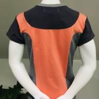 Farbenfrohes Designer T-Shirt _ Eco Fashion Art Print *Seerose* pink/grau_100% Biobaumwolle _Organic Kurzarm sportlich Bild 7