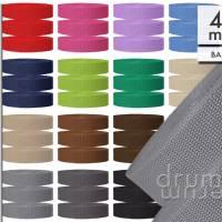 Gurtband 40 mm breit BASIC 1,3 mm dick Polypropylen, schwarz, blau, rot, braun, grau, grün, gel Bild 1