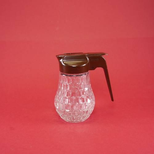 """Vintage - Milchspender aus Glas mit Schiebe-Verschluss """"Stoha-Design"""""""