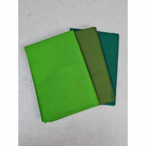 Baumwolle Stoffpaket 91 -  3x 50cmx 145cm