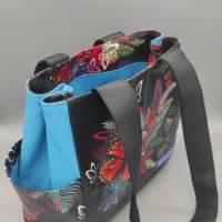 Tasche Motiv Schmetterling 28x33x12 cm Bild 4