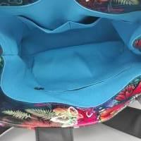 Tasche Motiv Schmetterling 28x33x12 cm Bild 5