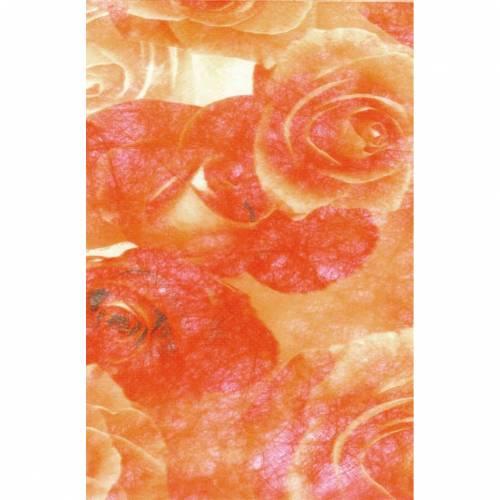 CREApop Design-Vlies Rosen Orange