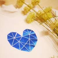 Plotterdatei geometric heart Bild 9