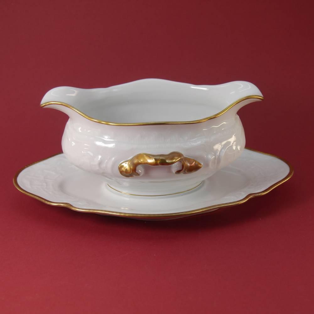 """eine wunderschöne Sauciere """"Rosenthal Sanssouci Goldrand"""" Bild 1"""