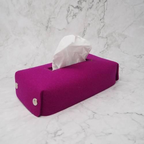 Hülle für Zupf-Taschentücher-Box, Kosmetiktücherbox