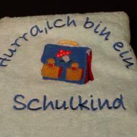 besticktes Handtuch Bild 3
