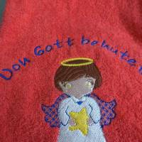 besticktes Handtuch Bild 5