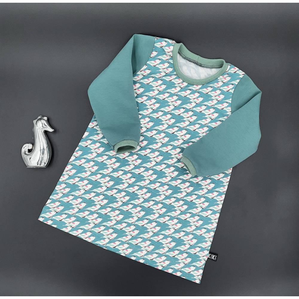 Langsarm Kleid Jersey Schwalbe  Bild 1