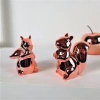 Wohndeko, Floristikdeko, 2er Set Eichhörnchen, Tischdeko, Stückpreis 4,95 Euro Bild 1