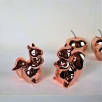 Wohndeko, Floristikdeko, 2er Set Eichhörnchen, Tischdeko, Stückpreis 4,95 Euro Bild 5