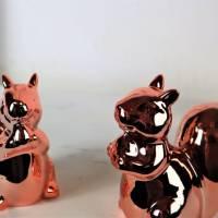 Wohndeko, Floristikdeko, 2er Set Eichhörnchen, Tischdeko, Stückpreis 4,95 Euro Bild 6