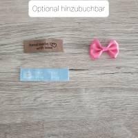 Rundum-sorglos Nähset Pumphose, hellblauer Sommersweat, diverse Größen, DIY Paket Bild 5
