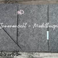 Mutterpasshülle - Hülle aus Filz für den deutschen Mutterpass - mit Faultier Bild 2